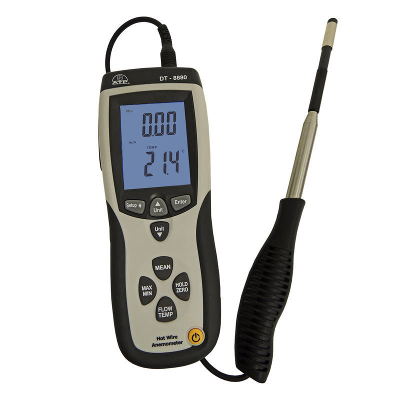 Data Logging Hot-wire Thermo-Anemometer