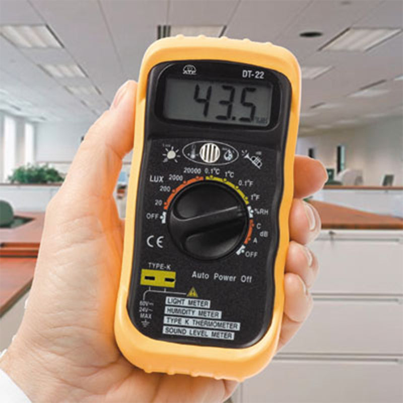 4-in-1 Environment Meter in Hand