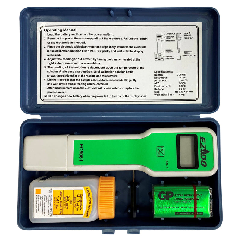 Conductivity Meter in Case