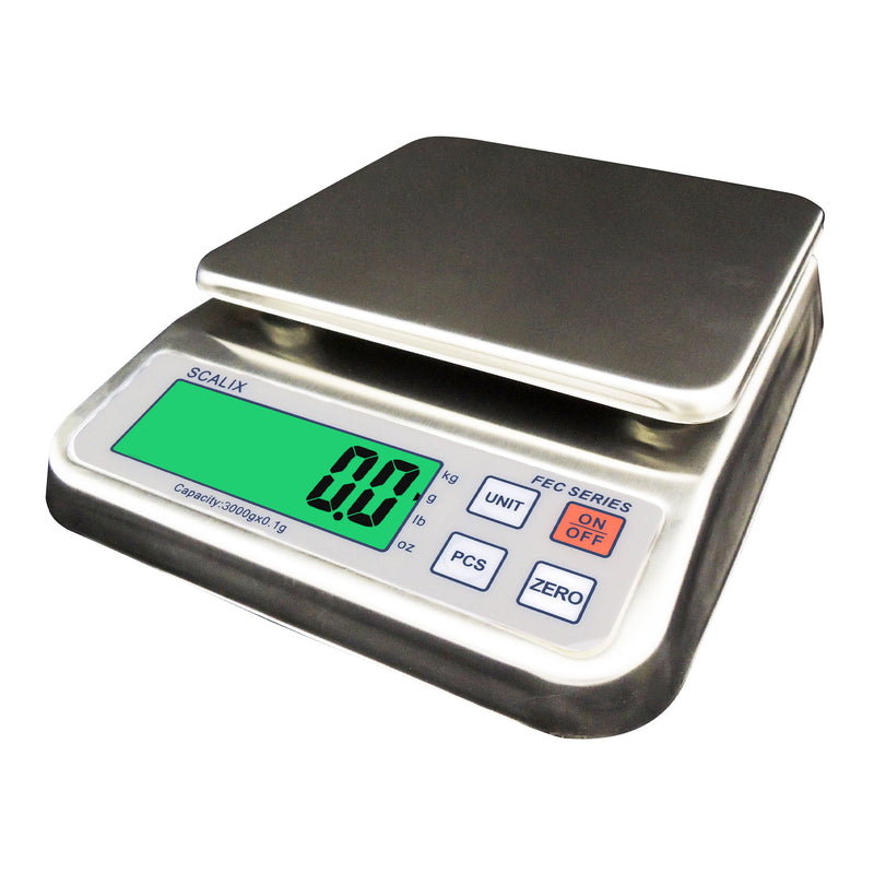 3Kg Splashproof Parts Counting Bench Scale