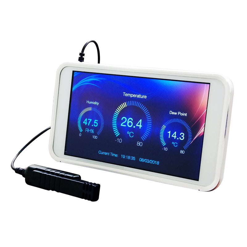 HT-1700 Humidity and Temperature Data Logging Tablet