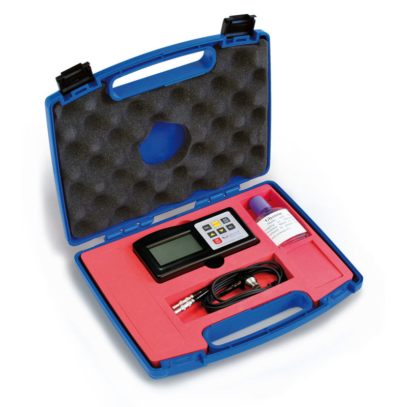 Ultrasonic Thickness Meter in Case