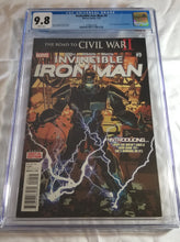 Load image into Gallery viewer, CGC 9.8  INVINCIBLE IRON MAN (2015) #9 (COVER A)