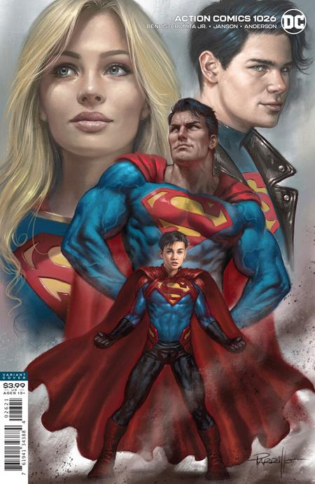 SUPERMAN: ACTION COMICS #1026 CVR B LUCIO PARRILLO VAR