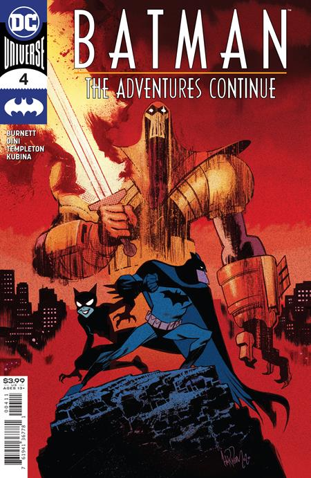 BATMAN: THE ADVENTURES CONTINUE #4 (OF 7) CVR A JAMES HARREN