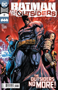 BATMAN & THE OUTSIDERS #17 CVR A TYLER KIRKHAM