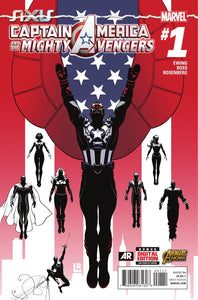 CAPTAIN AMERICA: AND THE MIGHTY AVENGERS #1-4 (OF 9) BINGE BAG