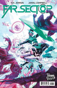 GREEN LANTERN: FAR SECTOR #8 (OF 12) CVR A JAMAL CAMPBELL (MR)