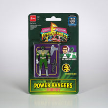 Load image into Gallery viewer, FCBD 2021 POWER RANGERS AUTOMORPHIN GREEN RANGER PX PIN