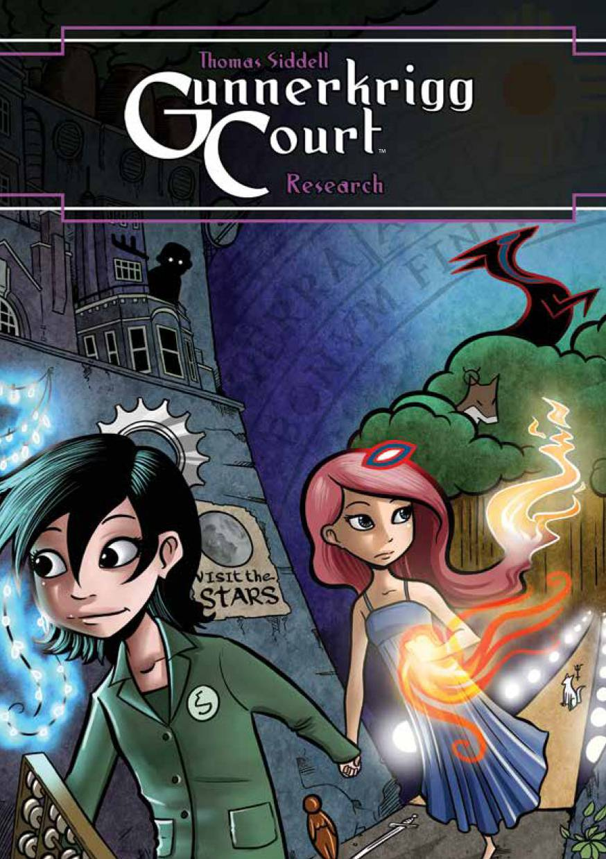 GUNNERKRIGG COURT VOL 02 RESEARCH SOFTCOVER