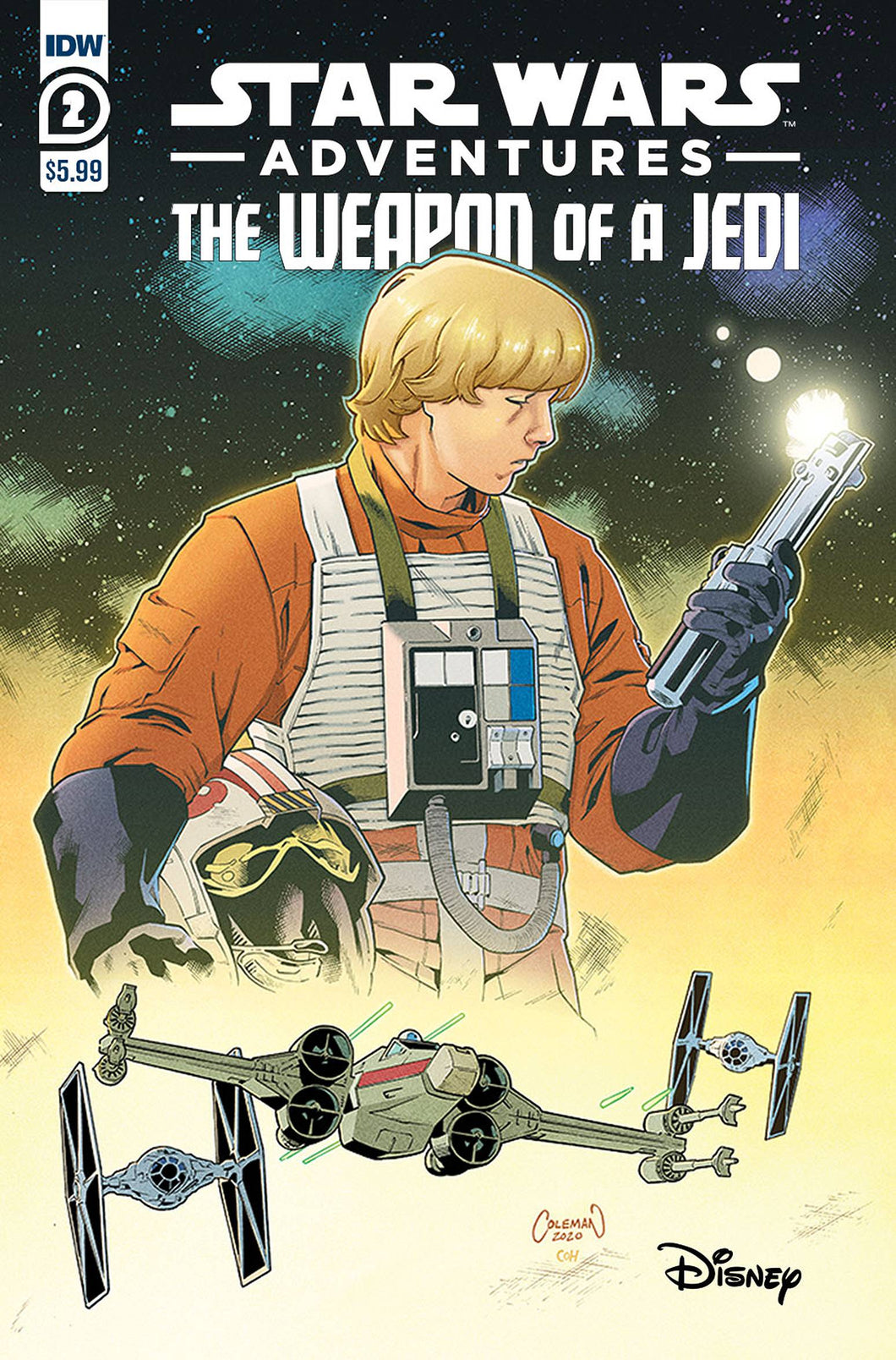 STAR WARS ADVENTURES WEAPON OF A JEDI #2 (OF 2)