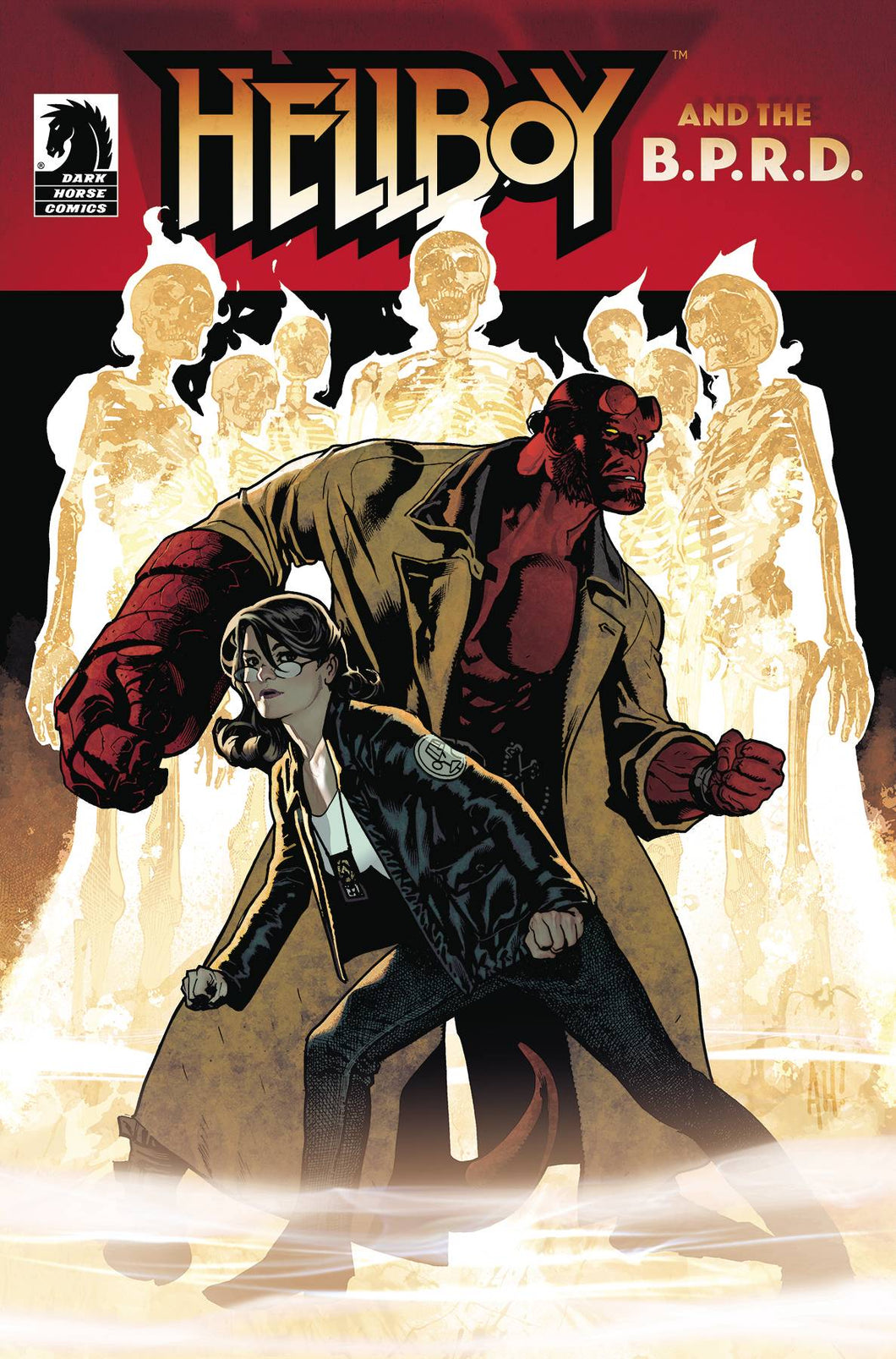 HELLBOY & THE BPRD THE SEVEN WIVES CLUB CVR A HUGHES