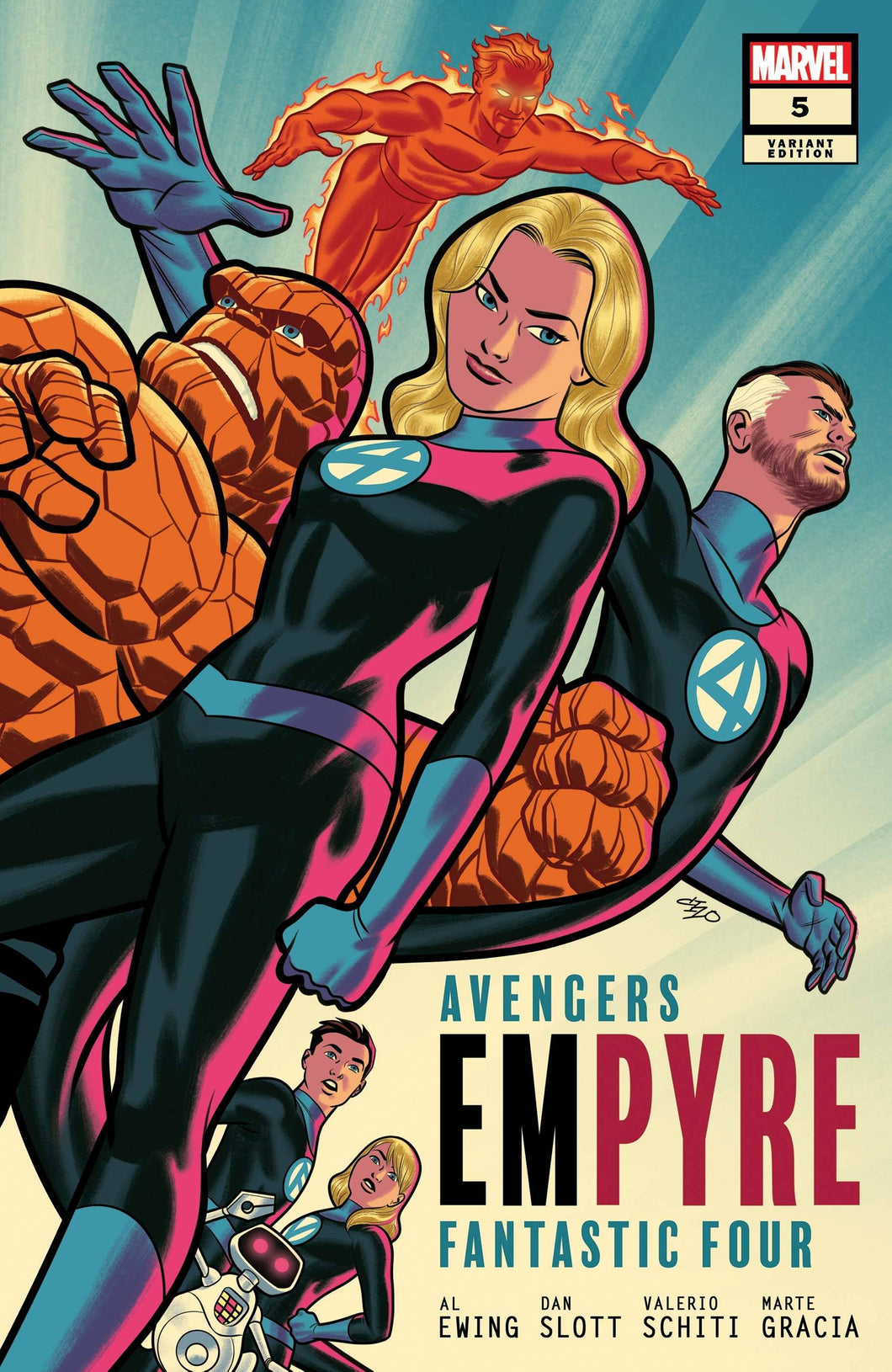 EMPYRE #5 (OF 6) MICHAEL CHO FF VAR