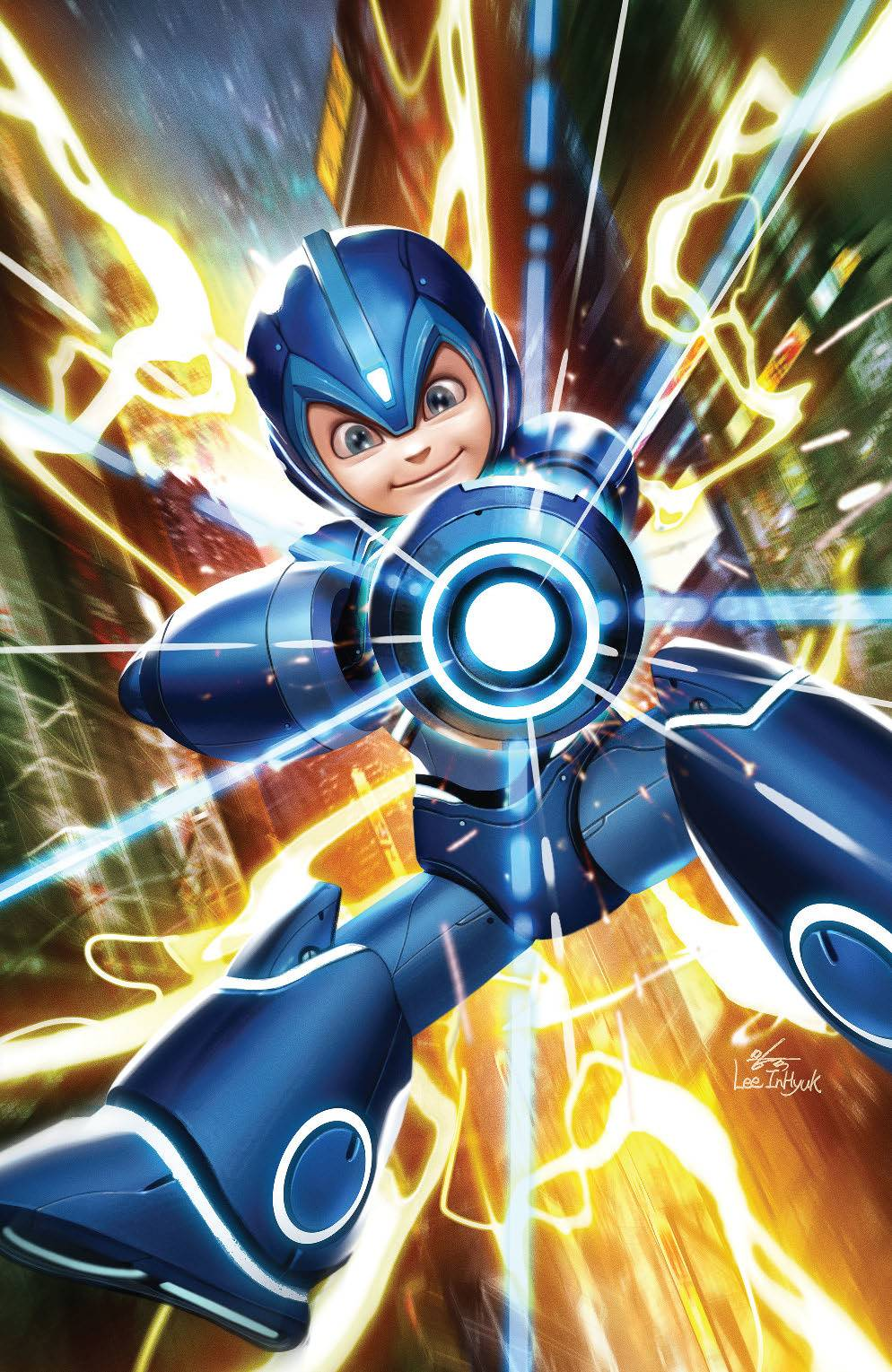 MEGA MAN FULLY CHARGED #1 CVR C LEE VAR