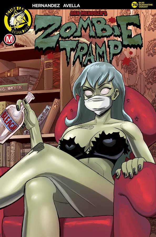 ZOMBIE TRAMP ONGOING #74 CVR C YOUNG (MR)
