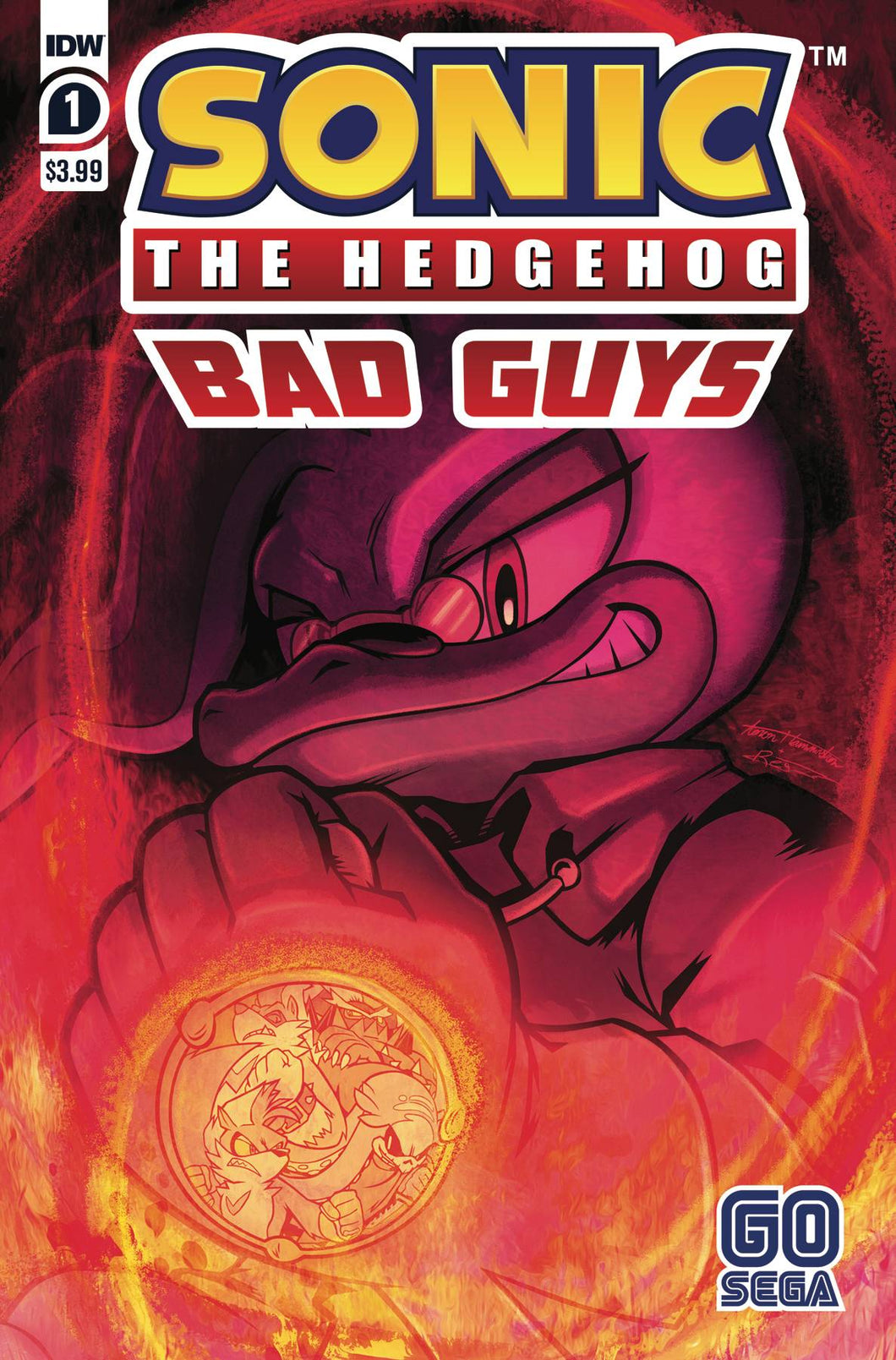 SONIC THE HEDGEHOG BAD GUYS #1 (OF 4) CVR A HAMMERSTROM