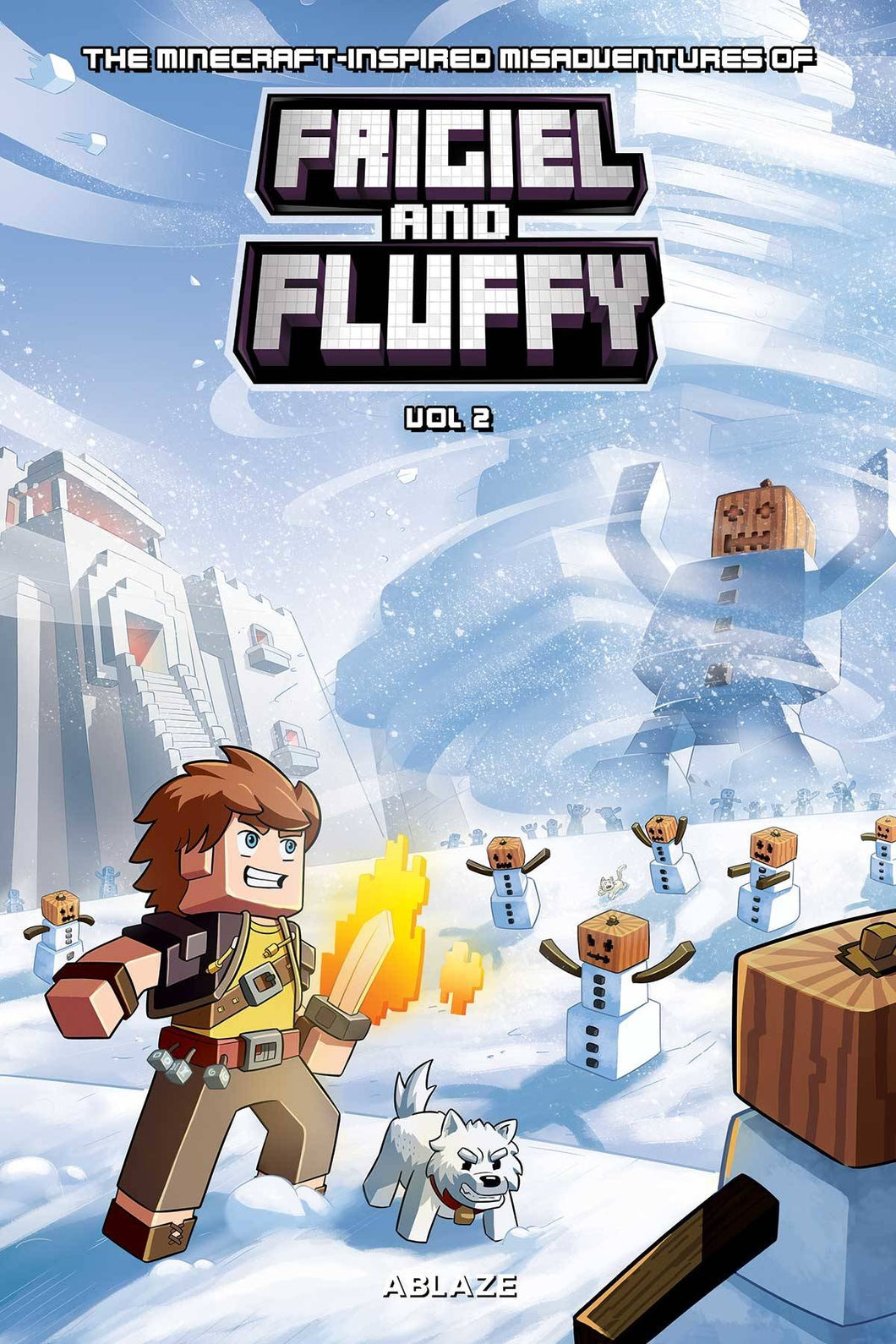 MINECRAFT INSPIRED MISADV FRIGIEL & FLUFFY HC VOL 02