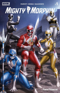MIGHTY MORPHIN #1 CVR C YOON CONNECTING VARIANT