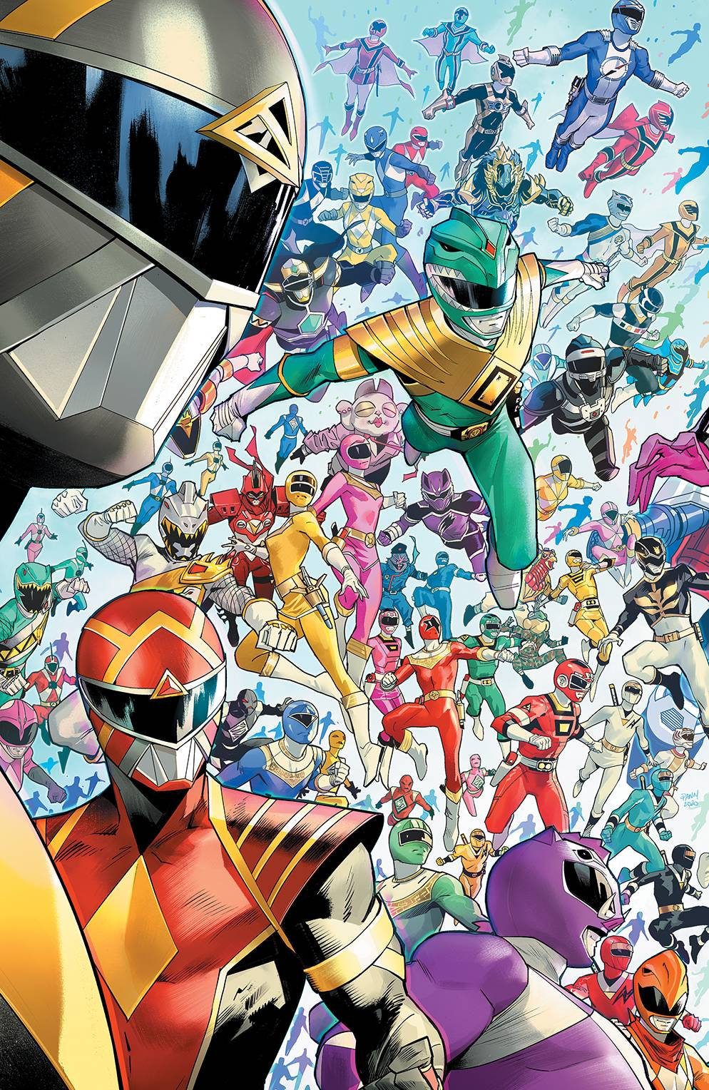 MIGHTY MORPHIN #1 10 COPY MORA INCENTIVE VARIANT