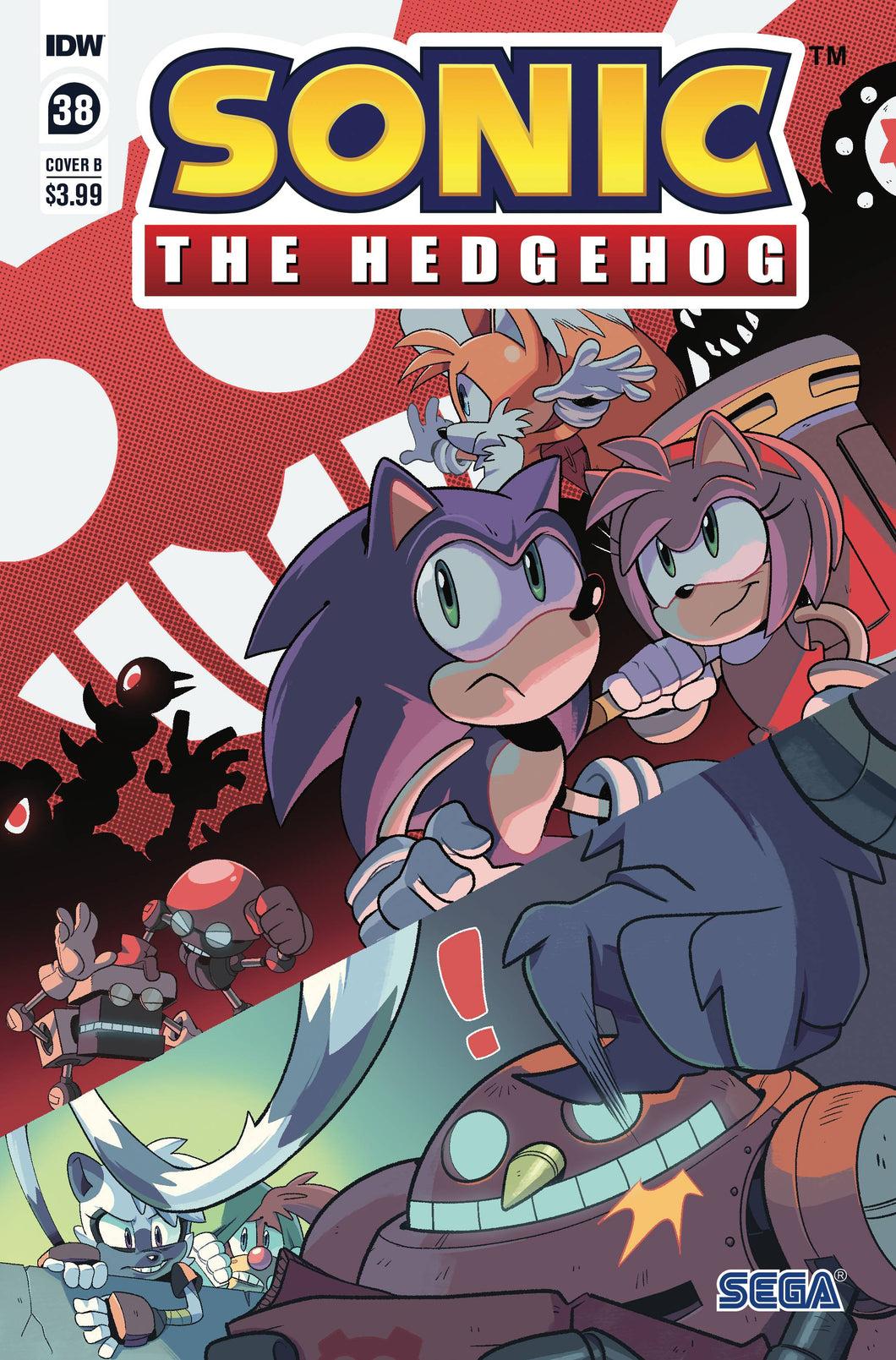 SONIC THE HEDGEHOG #38 CVR B ROTHLISBERGER