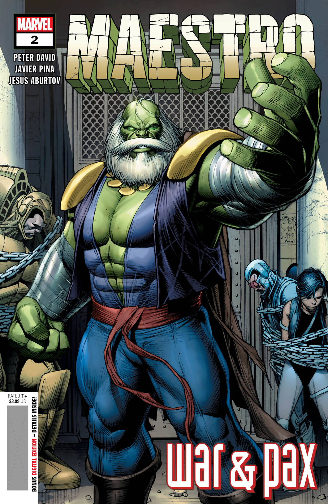 HULK: MAESTRO WAR AND PAX #2 (OF 5)