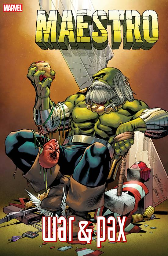 HULK: MAESTRO WAR AND PAX #2 (OF 5) PACHECO VAR