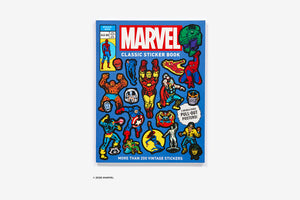 MARVEL CLASSIC STICKER BOOK