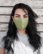 Load image into Gallery viewer, 4x Layers Protective Reusable BuyMask mask - Khaki+Black