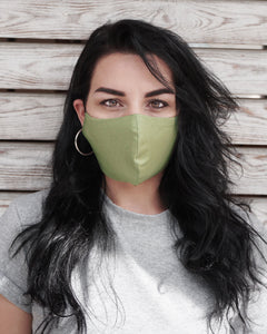 4x Layers Protective Reusable BuyMask mask - Khaki+Black