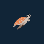 Load image into Gallery viewer, Organic T-Shirt - Ocean Turtle