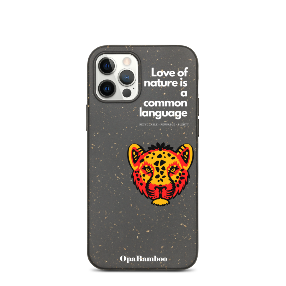 Eco iPhone Case Tiger - Love of Nature.
