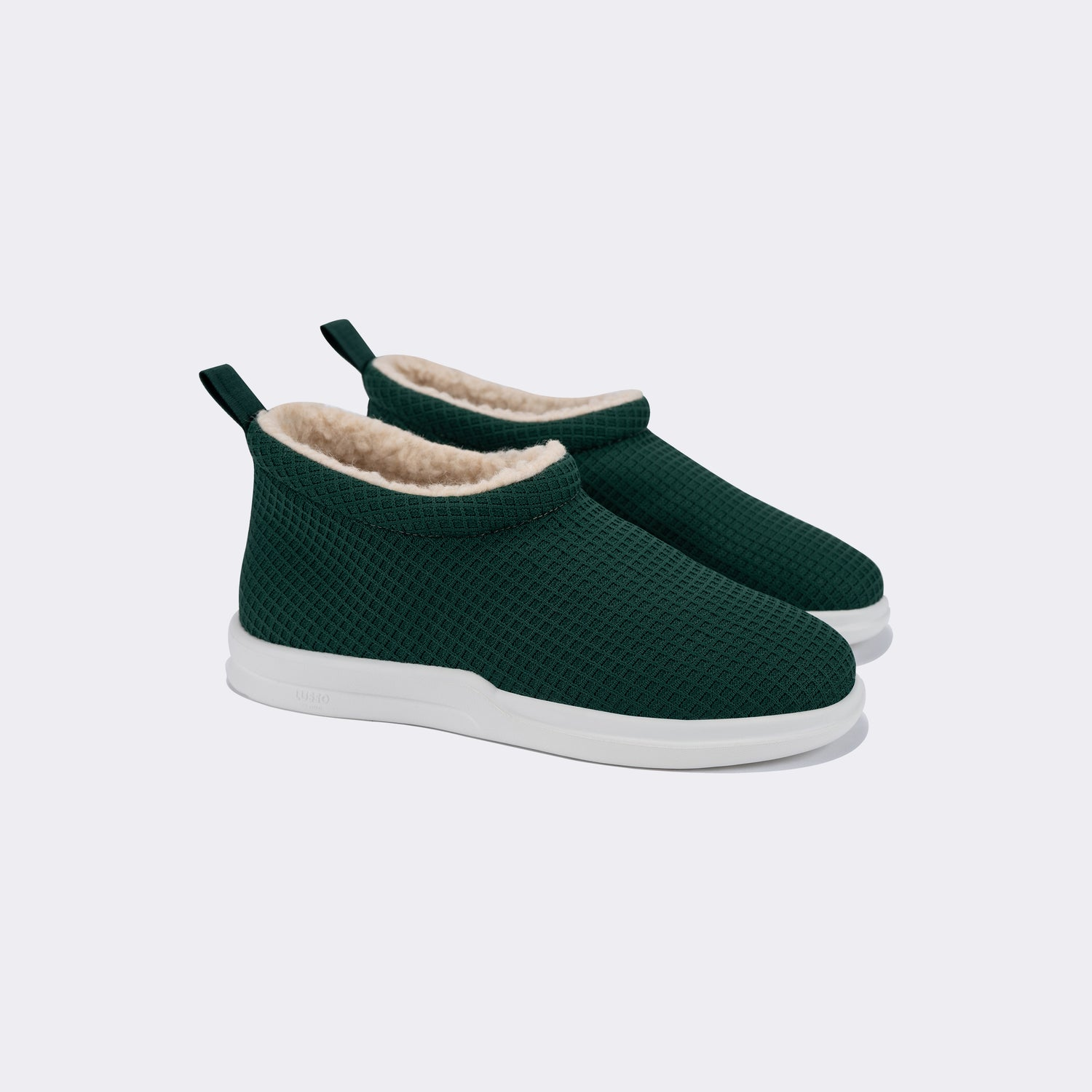 GURU SHEARLING - FOREST GREEN / LILY