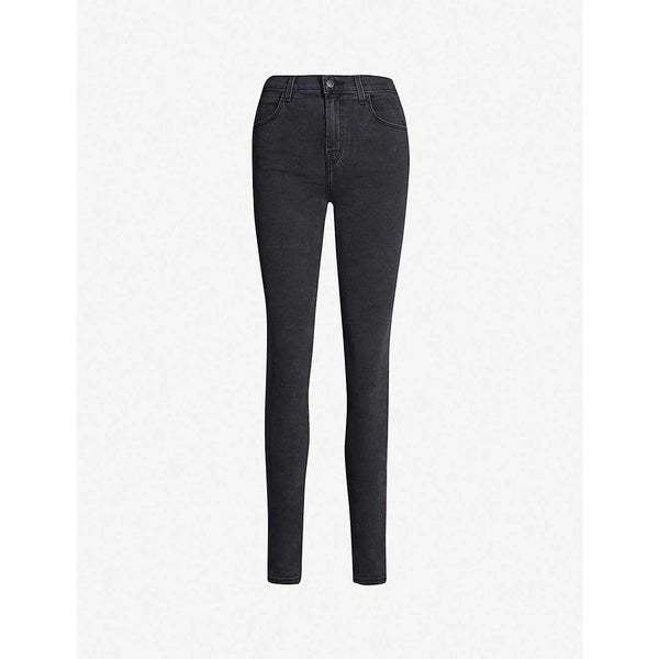 Black Skinny High-Rise Jeans