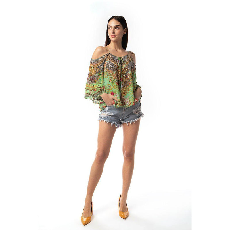 Chartreuse Gypsy Top
