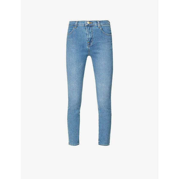 Alana Skinny Cropped High-Rise Jeans
