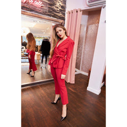 Pinko Red Suit