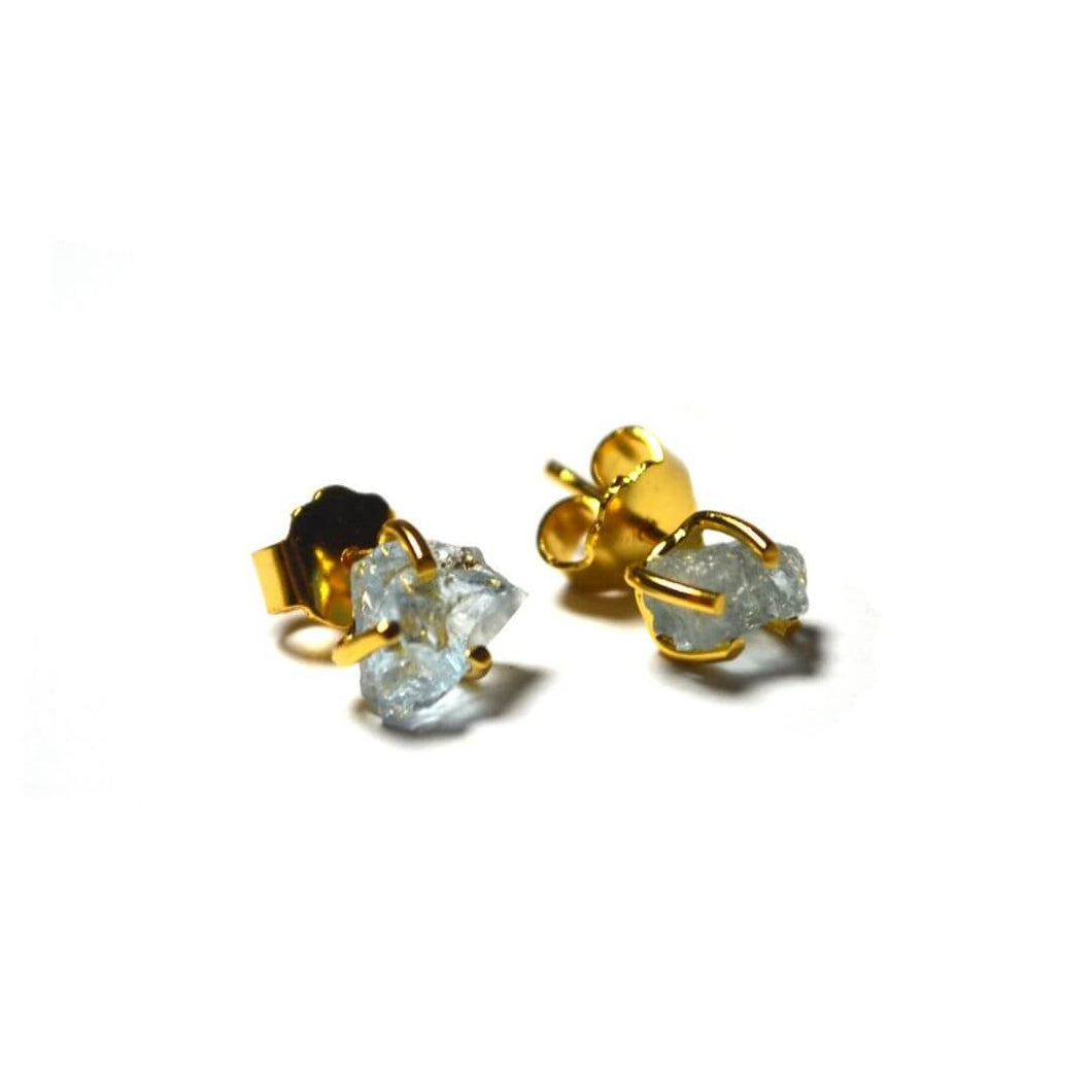 Earrings | Victoria | recycled 925 silver with 24K gold plating