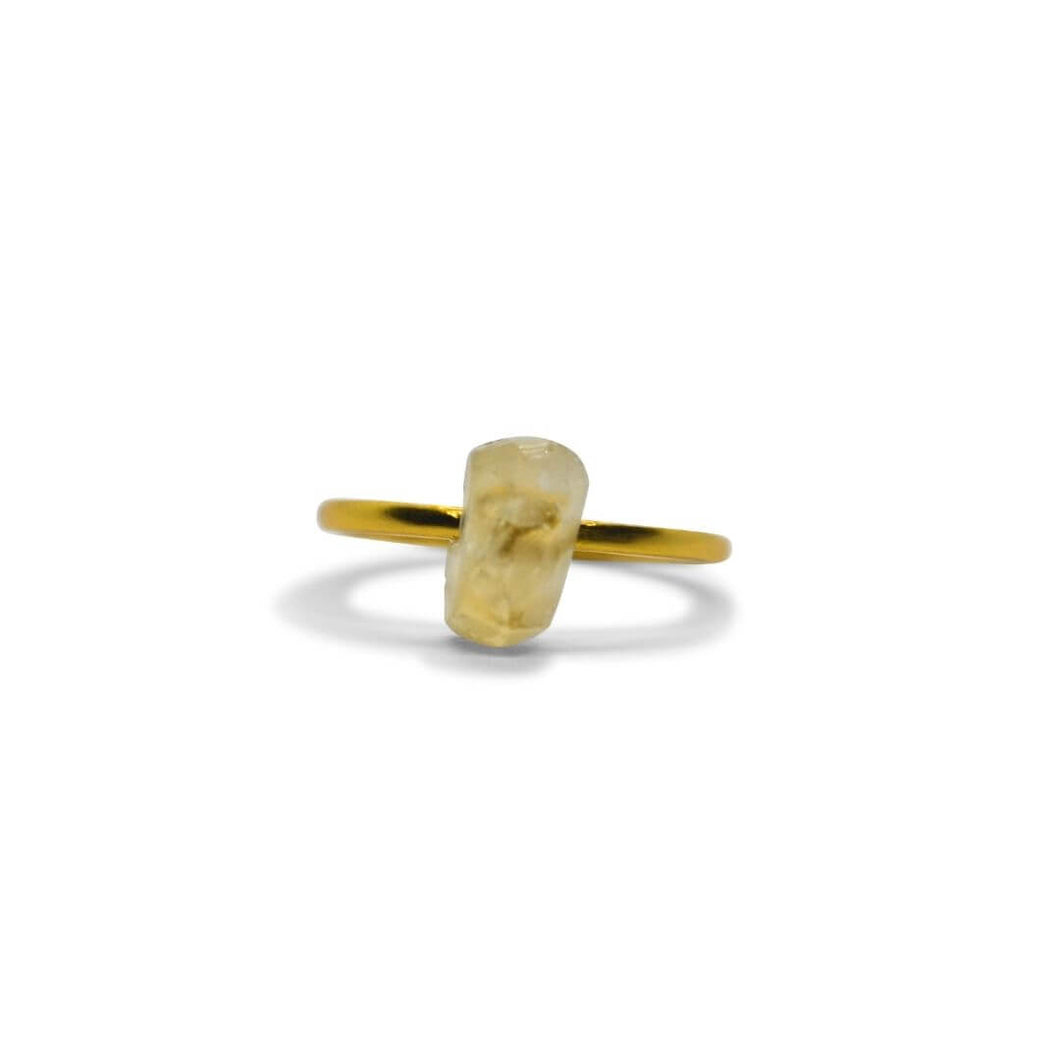 Ring | Magnolia | recycled 925 silver with 24K gold plating