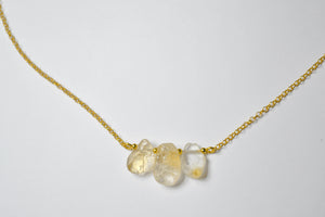 Necklace | Magnolia | 925 silver with 24K gold plating
