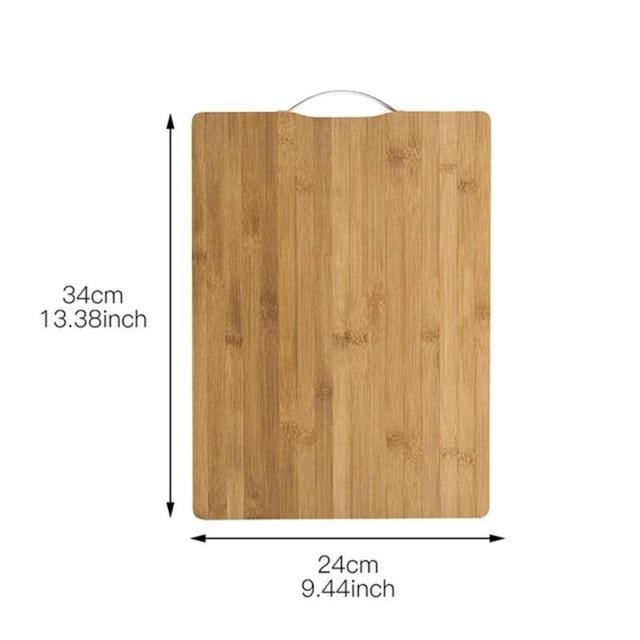 100% Natural Bamboo Cutting Board - prochefknife