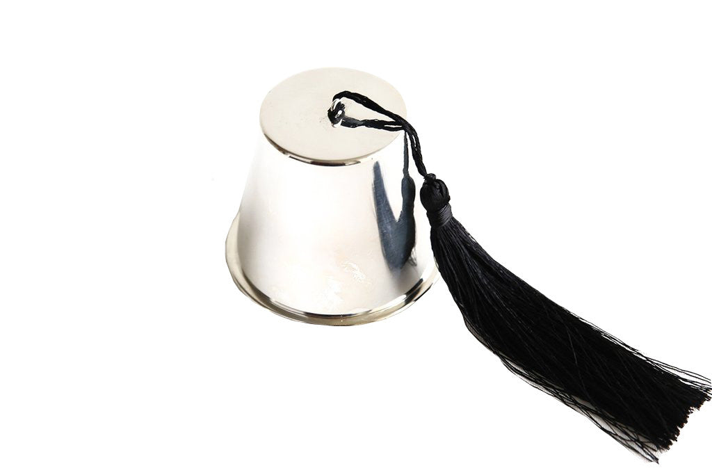 Silver Fez Candle