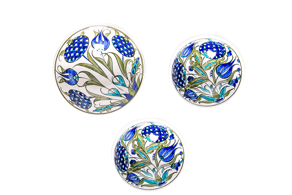 İznik Three-piece Bowl Set