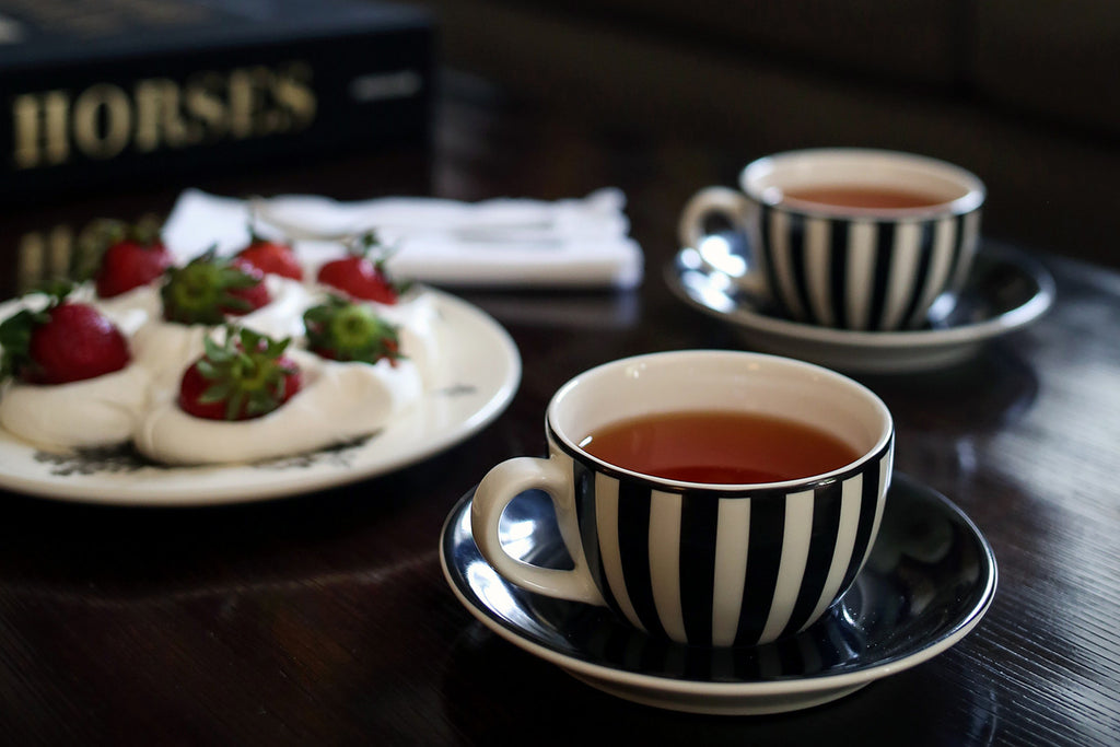 Striped Teacup