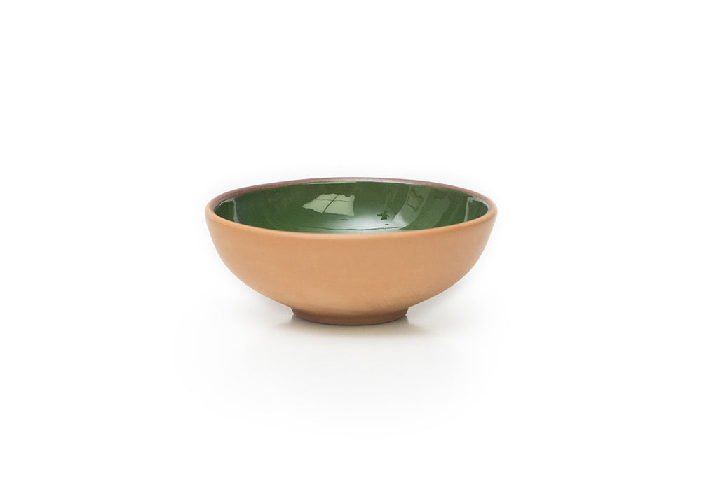 Green Mini Terracotta Bowl