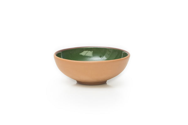 Green Medium Terracotta Bowl