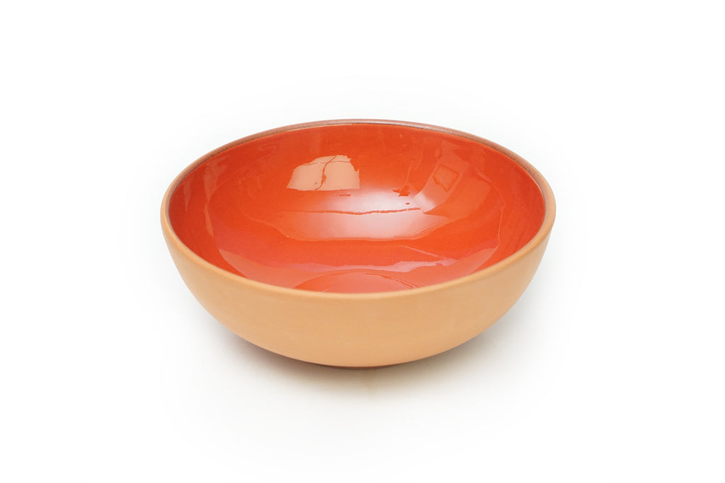 Red Large Terracotta Bowl