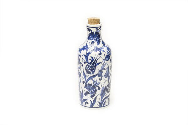 İznik Ceramic Bottle · Floral