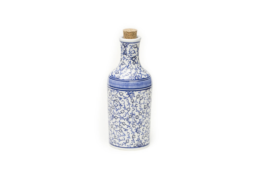 İznik Ceramic Bottle · Light Blue