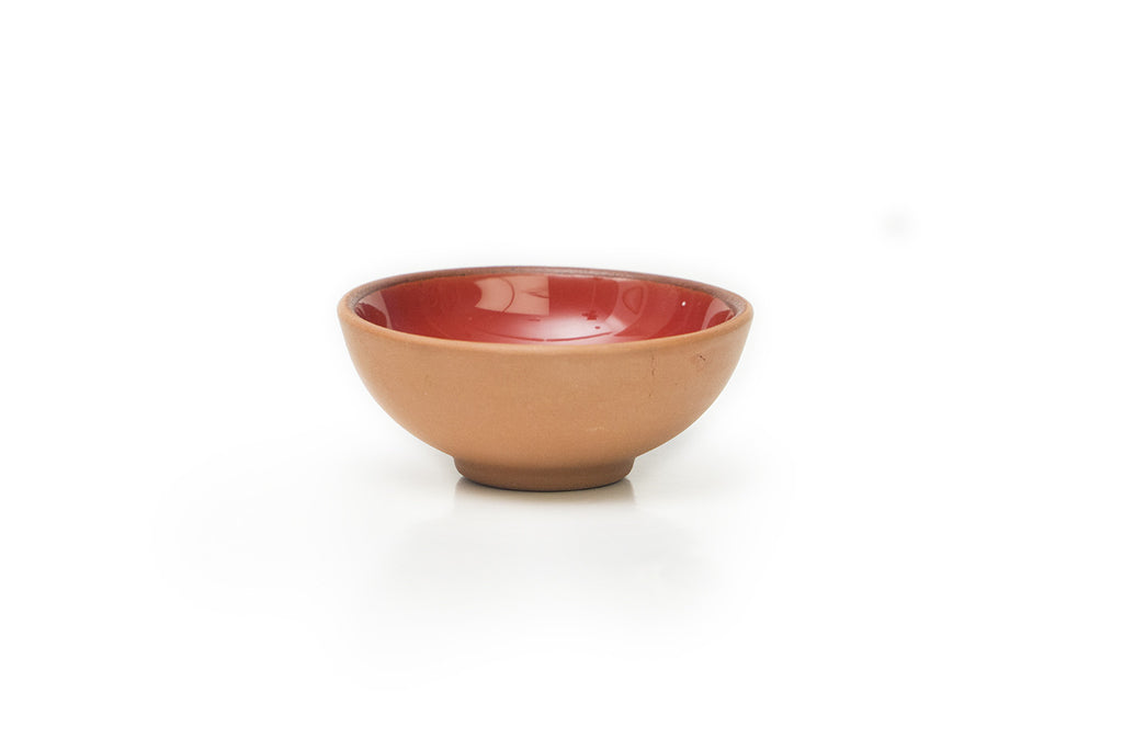 Red Medium Terracotta Bowl