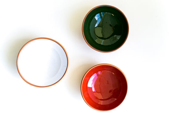 Multi-color Medium Terracotta Bowl Set